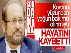 BTP Genel Başkanı Haydar Baş, Koronavirüse yenik düştü.