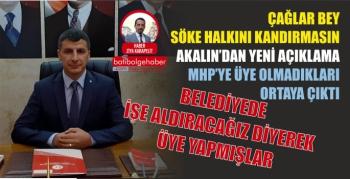 AKALIN'DAN YENİ AÇIKLAMA MHP'YE ÜYE OLMADIKLARI ORTAYA ÇIKTI